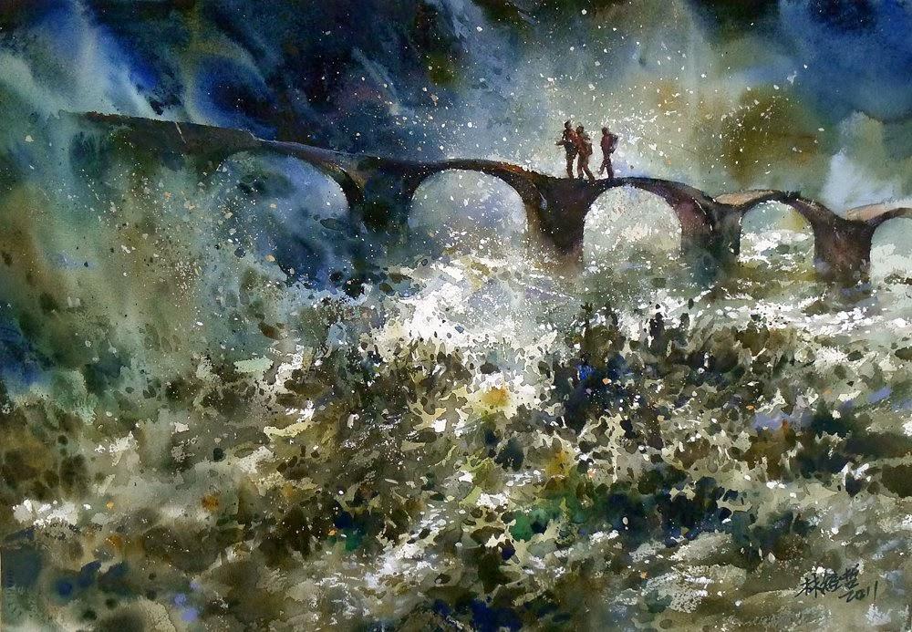 """Lin Ching Che """"Прекрасные работы в стиле импрессионизма"""""""