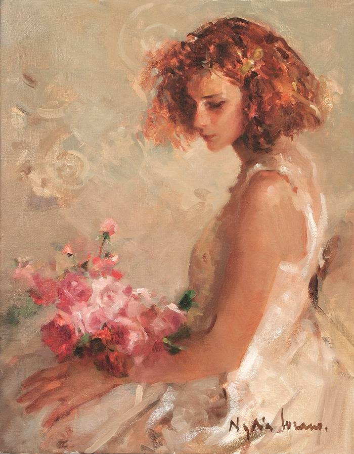 Nadya Lozano - Spanish Impressionist Figurative painter - Tutt'Art@ (4)