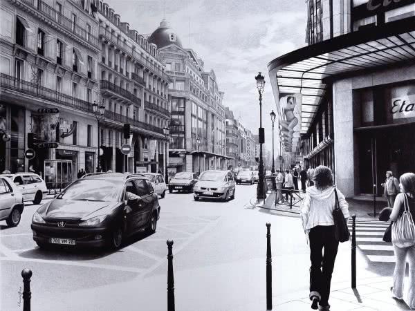 Parisian Street -54.5х72.5-2015