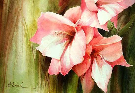 "Fabio Cembranelli ""Акварельные цветы"""