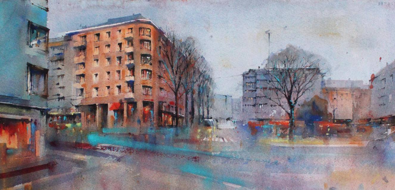 "Mika Törönen ""Уютные городские улочки"""