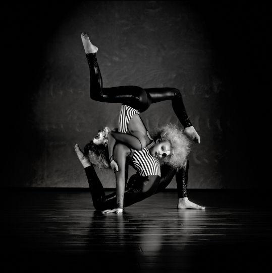 акробаты фотограф Дэвид Наман