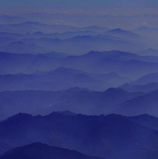 фотография гор на рассвете