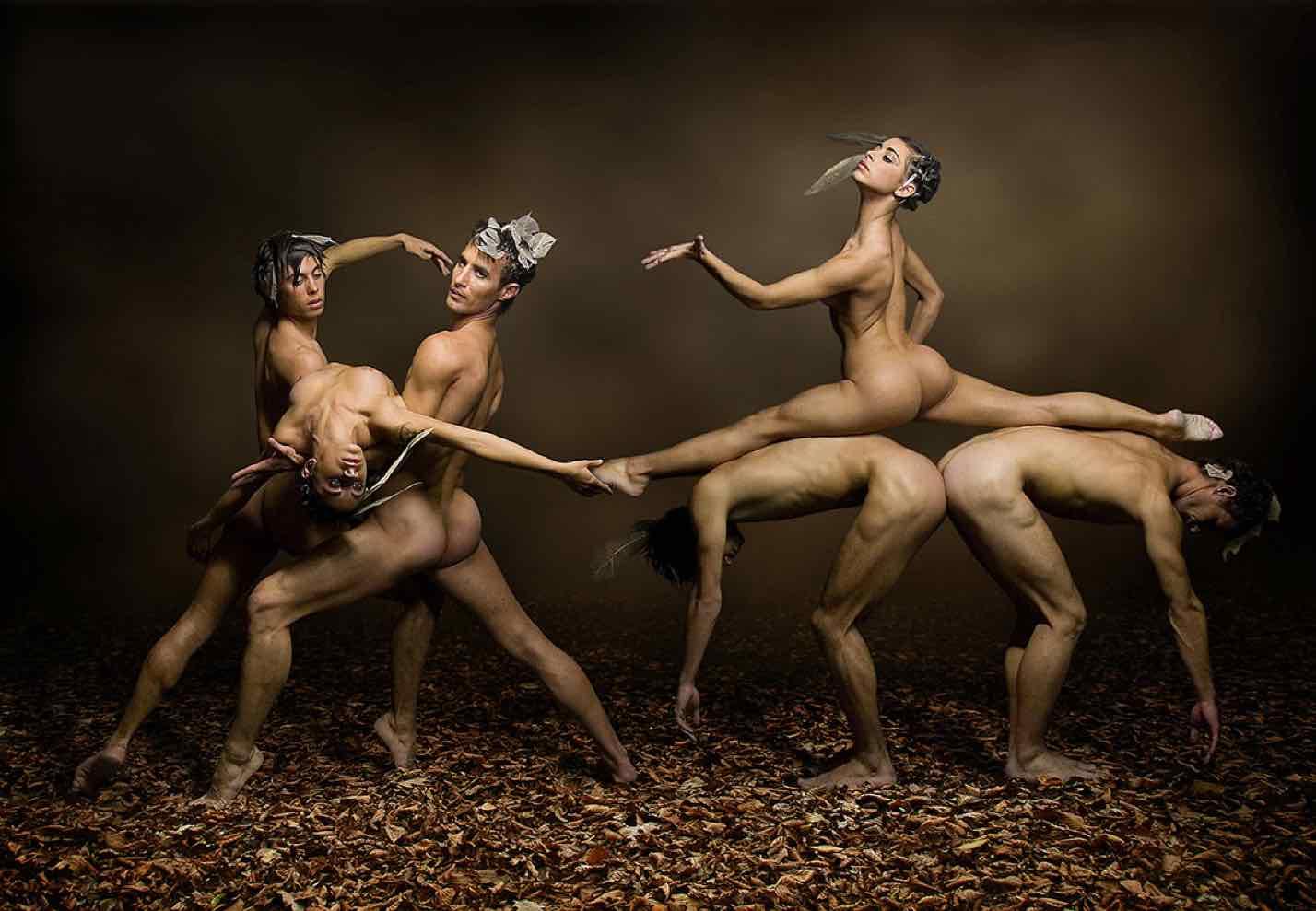 золотая осень современное искусство фотография ddiarte танец человек