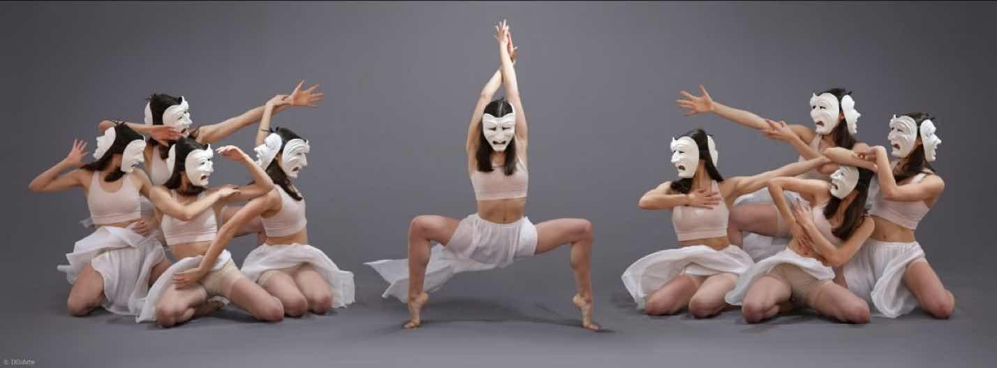 танец в масках современное искусство фотография ddiarte