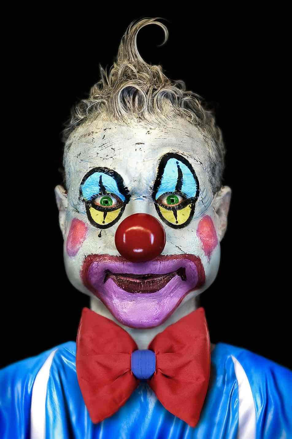 страшный клоун современное искусство фотография ddiarte