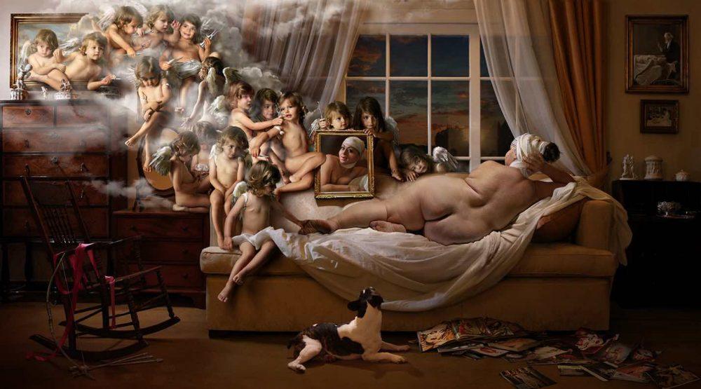 венера в зеркале созданная фото художником ddiarte современное искусство фотография