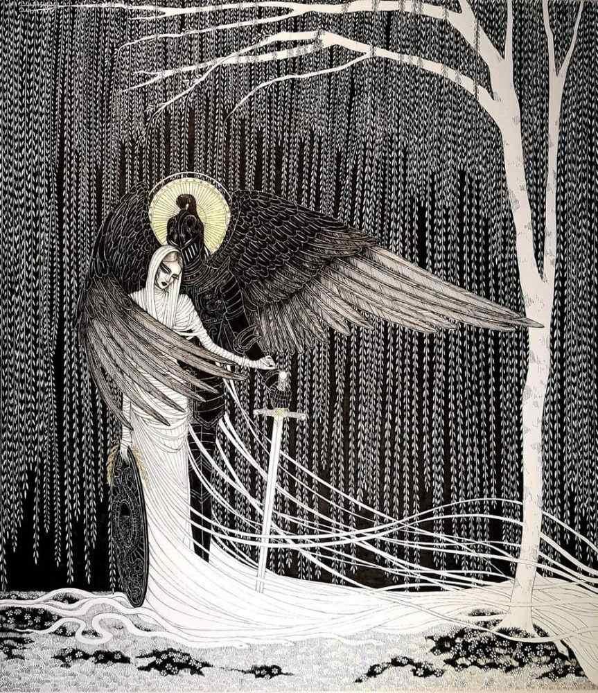 смерть с крыльями