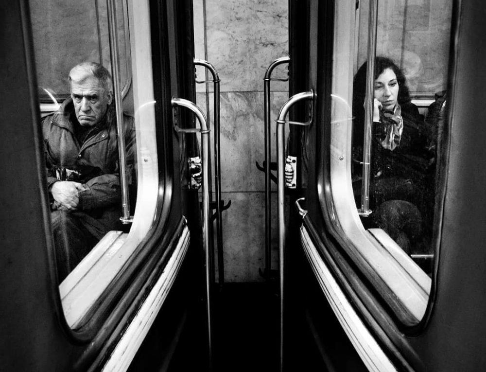 метро черно белая фотография московского метро