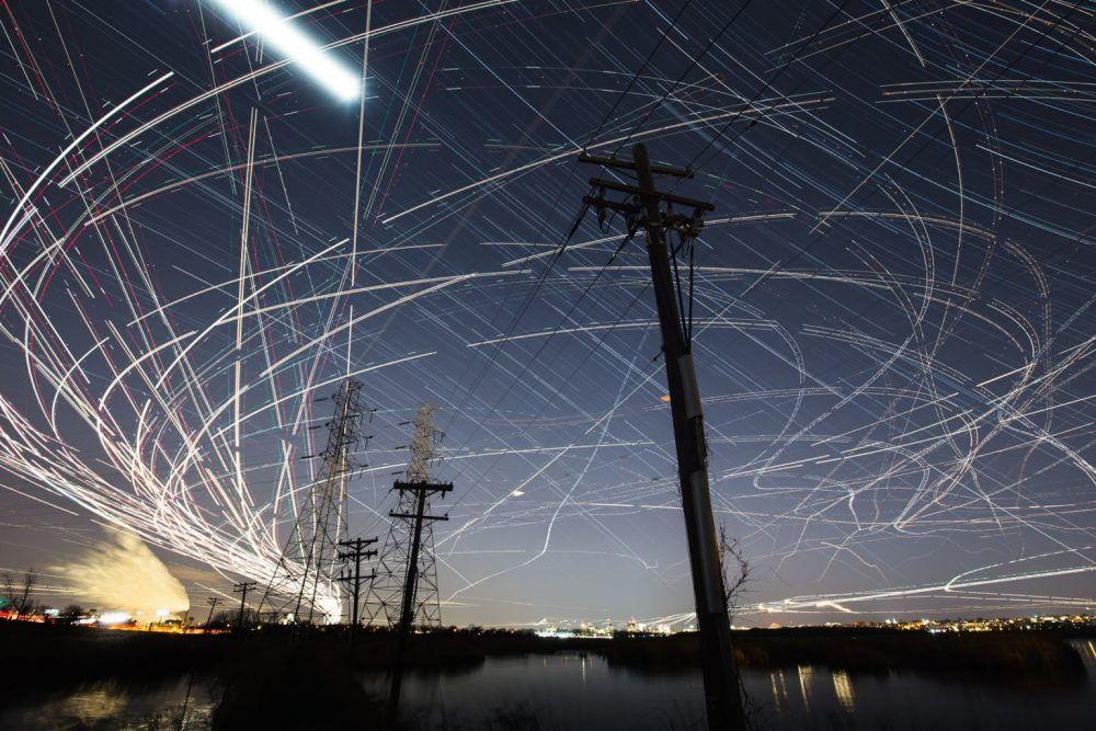 Современный фотограф Пит Мауни. Ночная съёмка