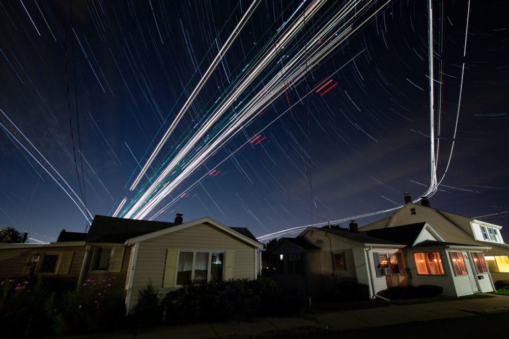 Современный фотограф Пит Мауни. Ночной городской пейзаж